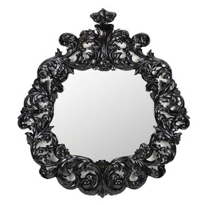 Gilt Antoinette Mirror Black now featured on Fab.