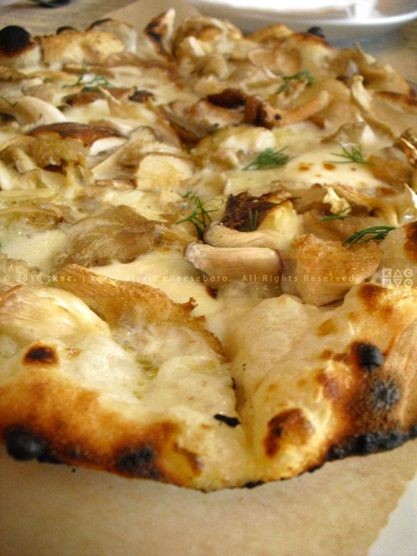 WILD MUSHROOM PIZZA PIE | Oyster Shiitake Mushrooms, Gruyere and ...