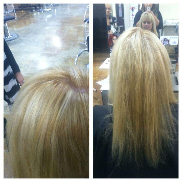 Horizontal Weave Hair Color Diagram 121