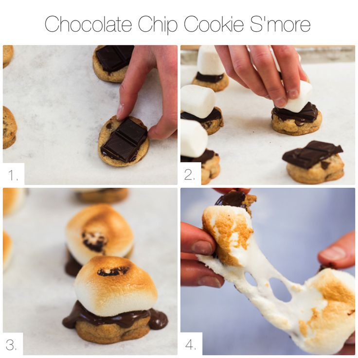 This is a quick snack to make with our best chocolate chip cookie ...