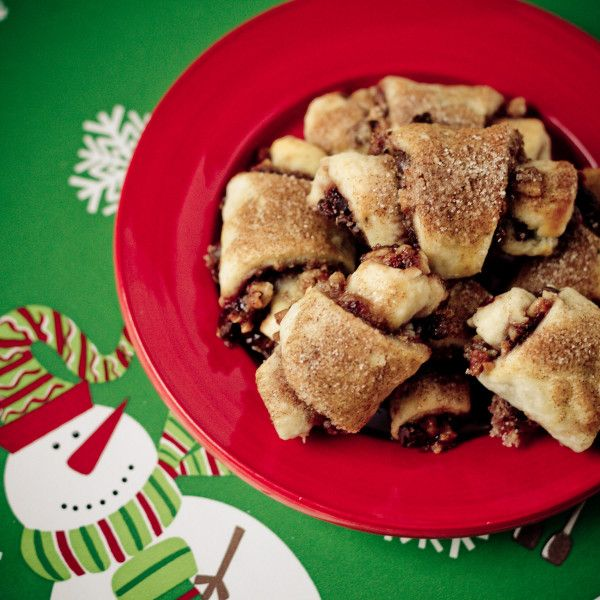 FirstOnTheFirst: Chocolate Cherry Rugelach - poet in the pantry