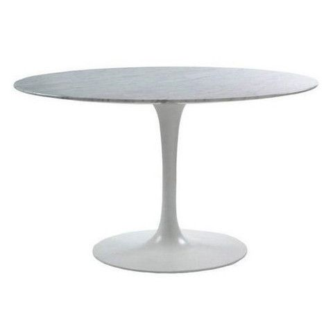 Eero Saarinen Round Tulip Dining Table 63 Inch