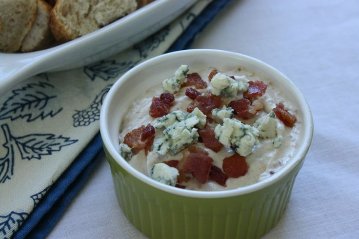 bacon blue cheese dip - super rich with great flavor - definitely a ...