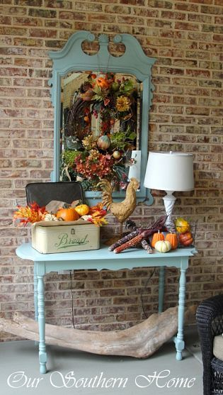 Southern fall porch home decor home decor pinterest Southern home decor on pinterest