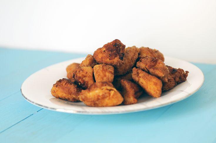 Spicy Chipotle Popcorn Chicken Bites | Chicken/Turkey | Pinterest