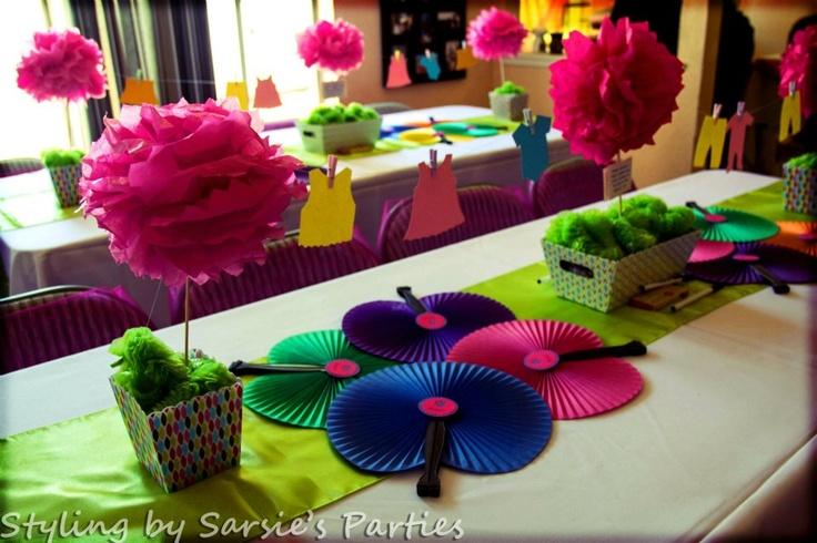 baby shower set up sarsie 39 s parties pinterest
