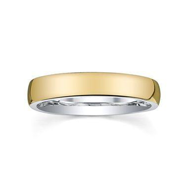 Wedding Band, Mens 4mm 10KSilver - jcpenney