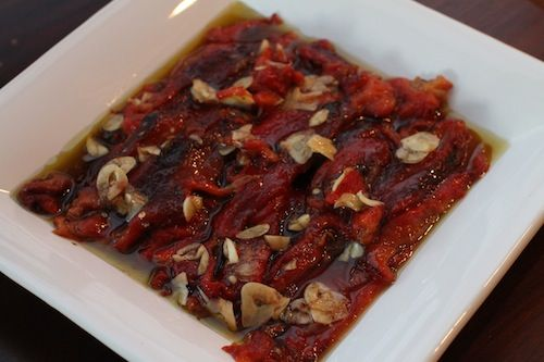 Marinated Roasted Red Peppers | EMBRACING MY HERITAGE | Pinterest
