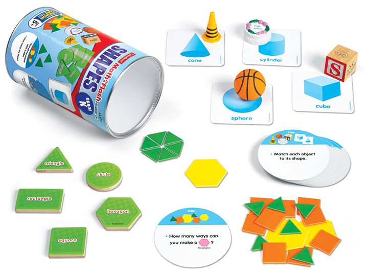 Shapes Discovery Can - Kindergarten | STEM after school activities ...