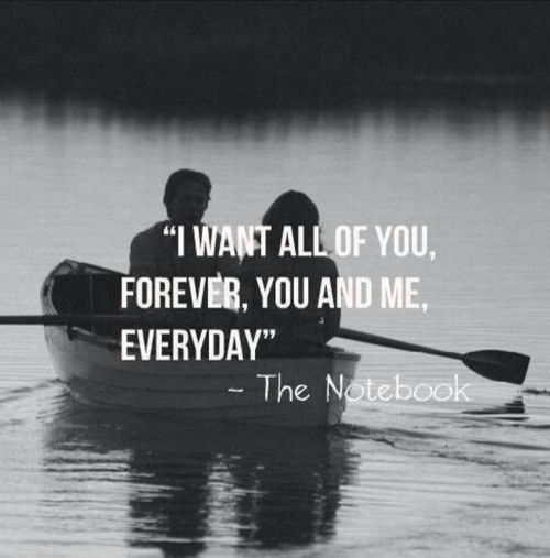 I want all you forever quotes cute quote girl trust tumblr boy relationship relationship quotes the notebook Relationshi...