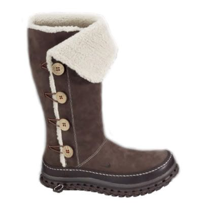 New Nike Roshe Run Army Green Snow Boots Women - $59.99