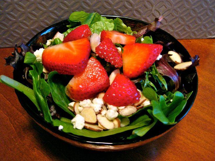 Mmm. Strawberry balsamic salad   Salads   Pinterest