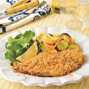 Crispy Oven-Fried Catfish Recipe | MyRecipes.com
