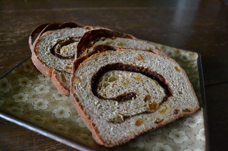 Cinnamon Raisin Swirl Bread. | Breads I've Baked | Pinterest