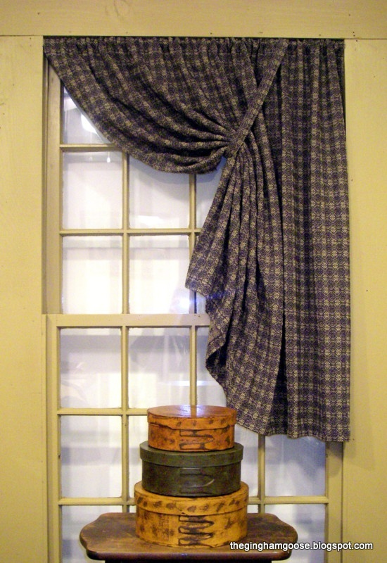 Primitive window curtains
