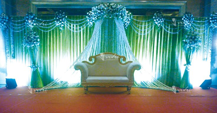 Christian Wedding Stage Decoration Pics : Wedding stage decoration