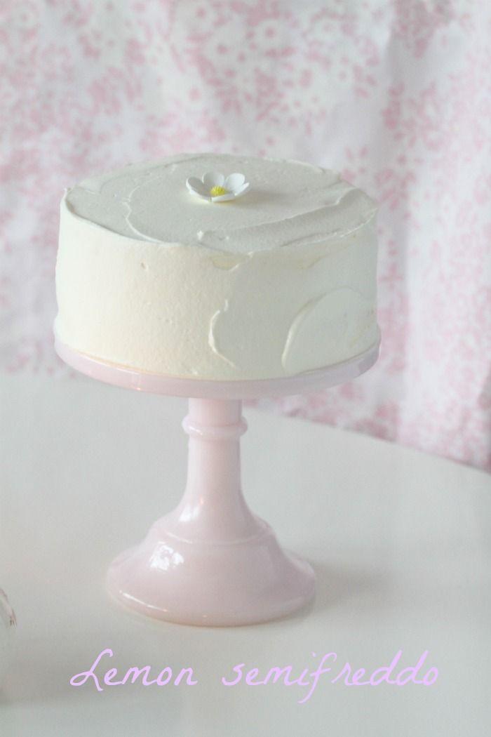 Lemon Semifreddo Cake | Mangiamo! | Pinterest