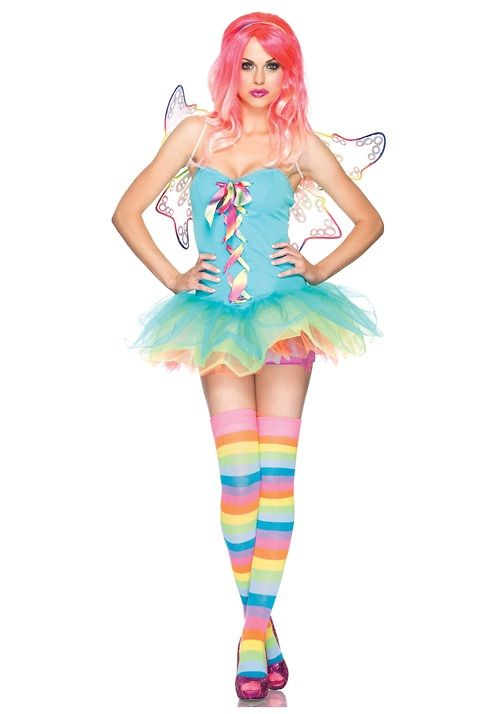 Rainbow Fairy Costume