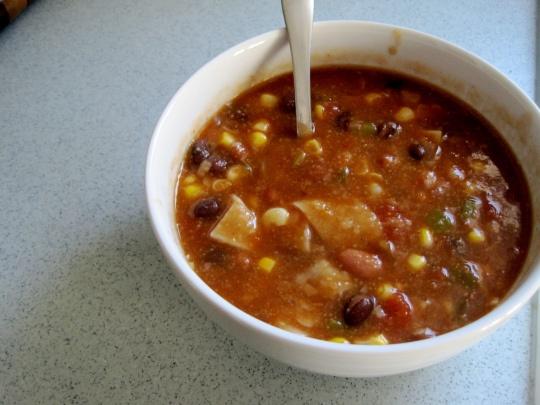 VEGAN Tortilla Soup! | Makes Me Hungry | Pinterest