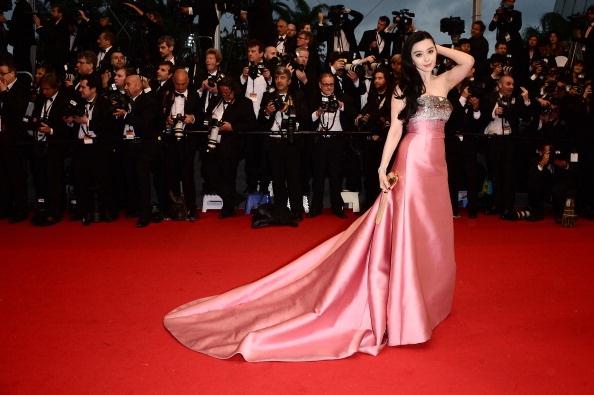 Fan Bingbing in Louis Vuitton in Cannes 2013