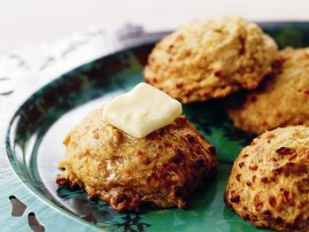 "Chipotle Cheddar Biscuits"" from Cookstr.com #cookstr"