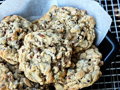chocolate chip oatmeal cookies oatmeal chocolate chip sea salt cookies ...