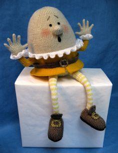 Humpty Dumpty Cloth Doll Patterns | Alan Dart Knitting Pattern: Humpty