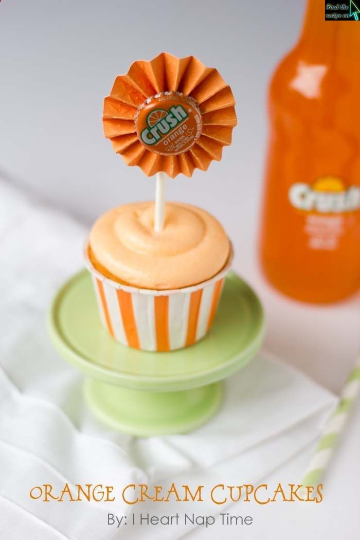 Orange Cream Cupcakes | Cupcakes | Pinterest
