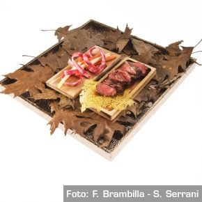 """Panino"" di manzo Pohorje - Chef Tomaz̆ Kavcic"