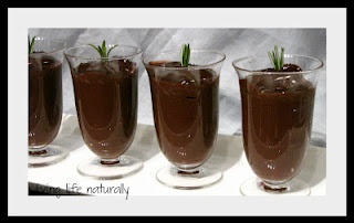 Deep Dark Chocolate And Rosemary Pudding | My Own Recipes | Pinterest