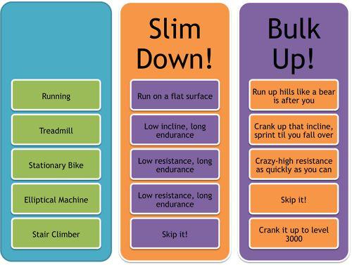 Slim Down / Bulk Up