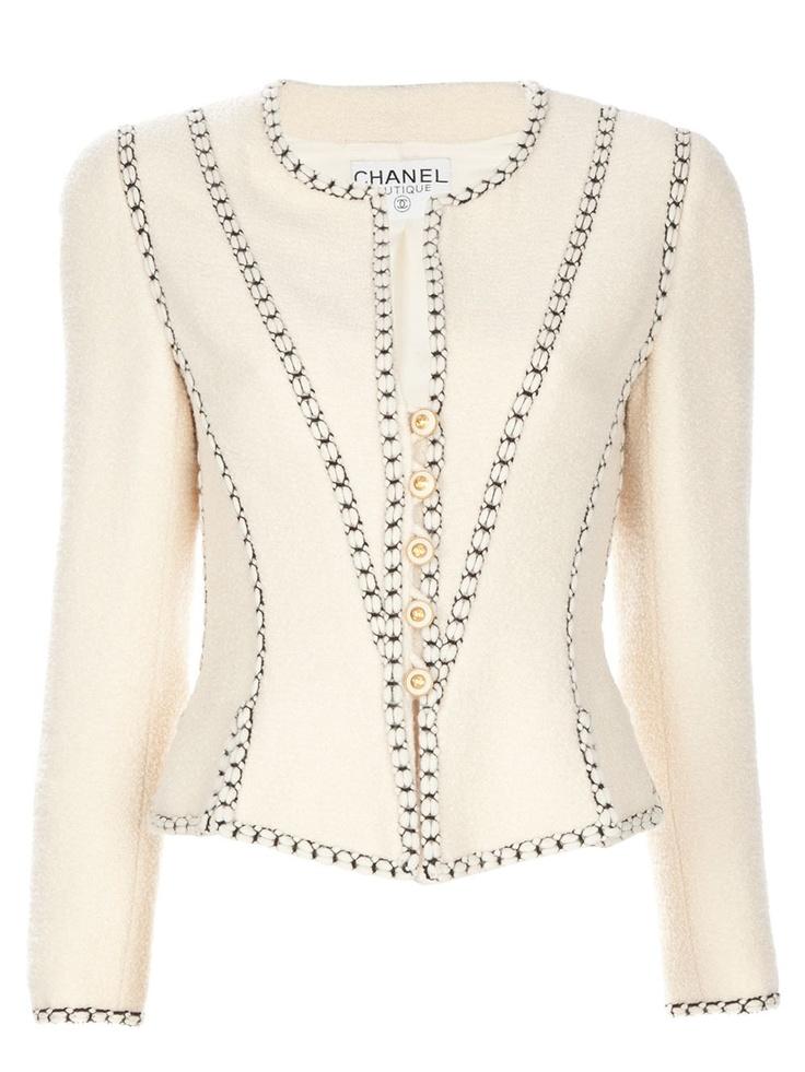 Vintage chanel jacket vintage beauty pinterest - Vintage chanel ...