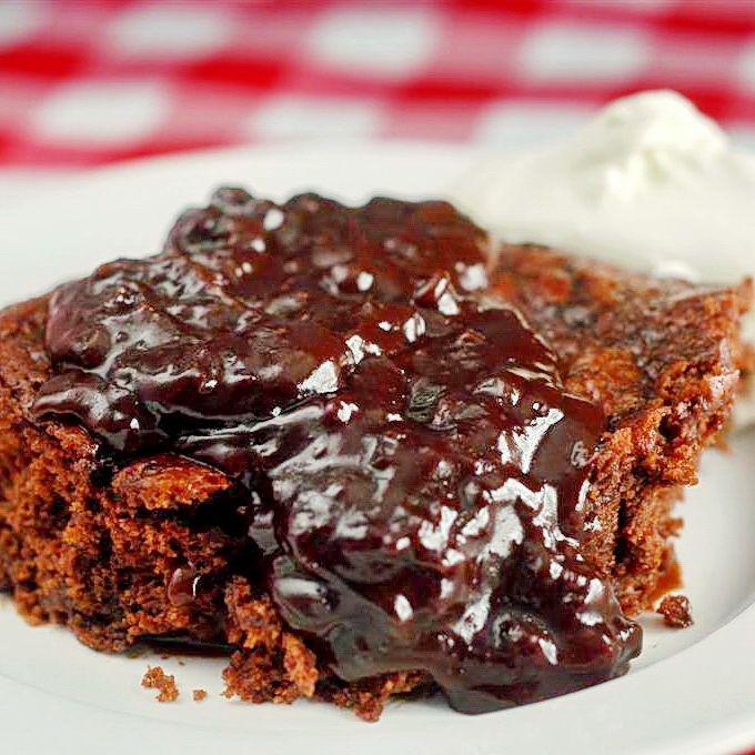 Easy Chocolate Pudding Cake