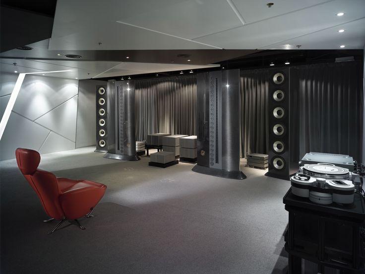 listening room | Vinyl hifi room | Pinterest