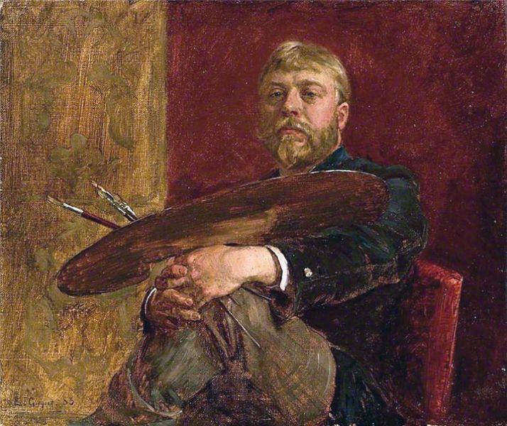 Edward John Gregory  - Autorretrato