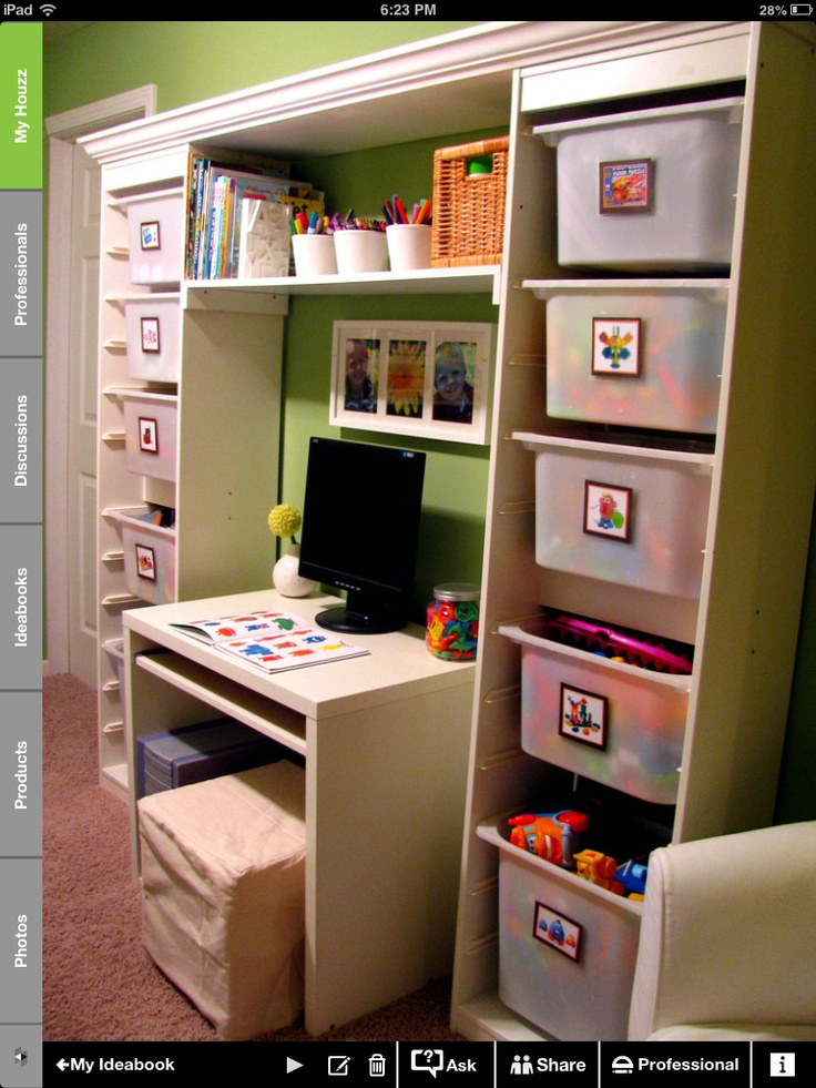 organizing kids room bedroom fun pinterest