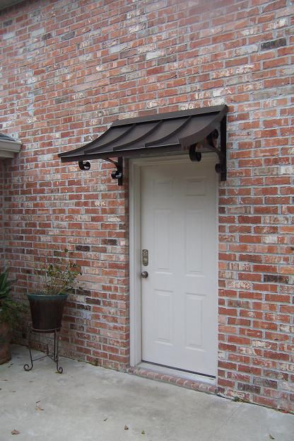 Door Amp Window Awnings : I need this over my bedroom window metal awning for doors