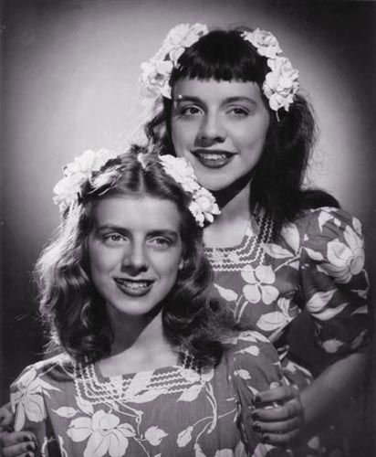 Rosemary Clooney Family   Rosemary Clooney  amp  sister Betty   When They    Rosemary Clooney Children