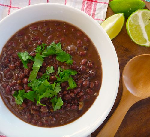 Spicy, citrusy black beans | Favorite Recipes | Pinterest