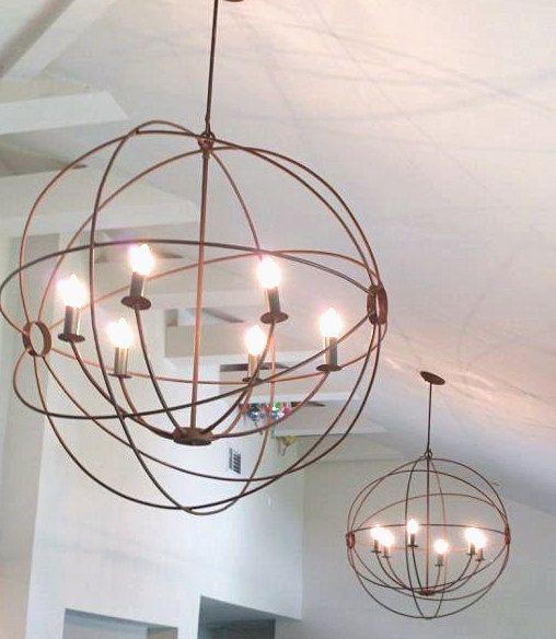 orb hanging orb light orb chandelier orb light