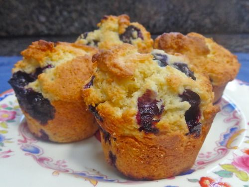 Blueberry Corn Muffins | Favorite Brunch and Breakfast Foods | Pinter ...