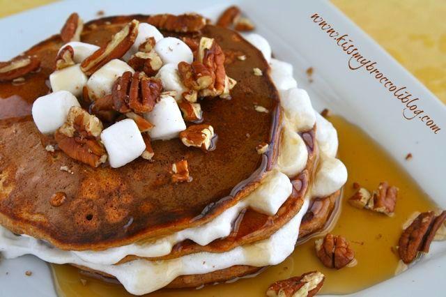 Sweet Potato Pie Pancakes | My that looks tasty | Pinterest