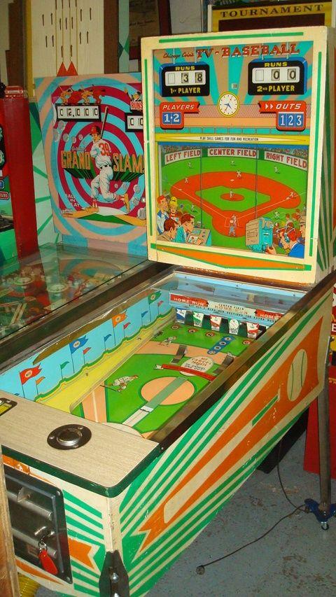 Old Fashioned Arcade Games Cartoon