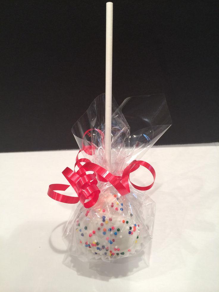 Vanilla Cake Pop | Inspired Treats ~ Homemade Cookies! | Pinterest