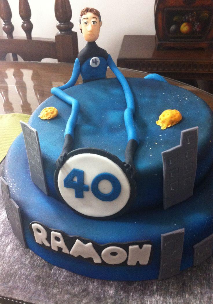 4 fantastic cake elastic man