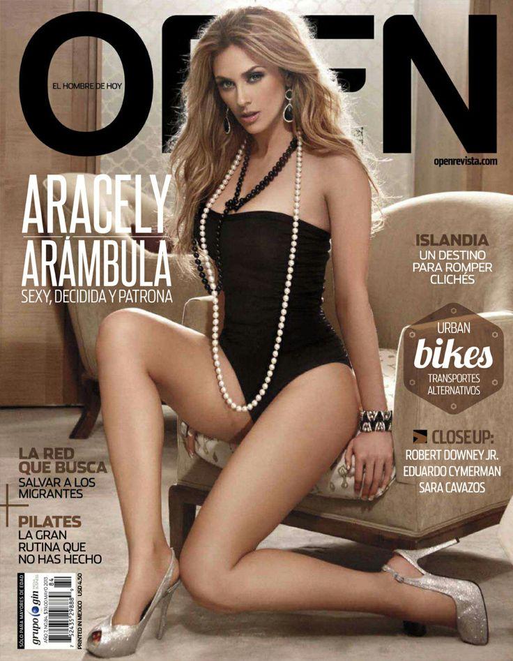 Aracely Arambula- Open Magazin #Open | Revistas | Pinterest