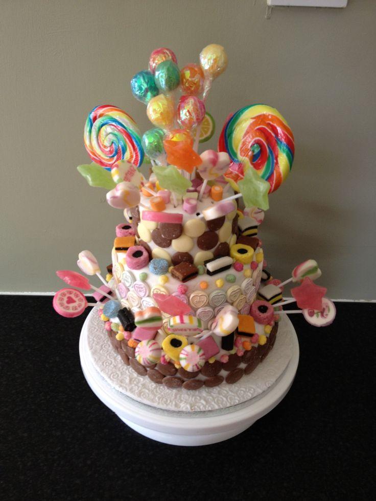 Birthday Cake Ideas With Sweets : Sweetie Cake Sweetie cake Pinterest