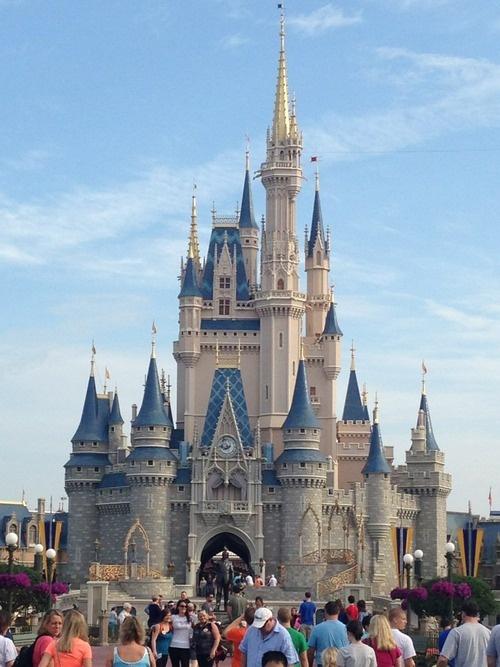 Cinderella castle cartoon