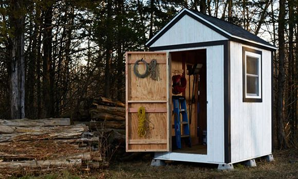 How To Build A Garden Shed From Scratch, For... - Amazing Wood Plans