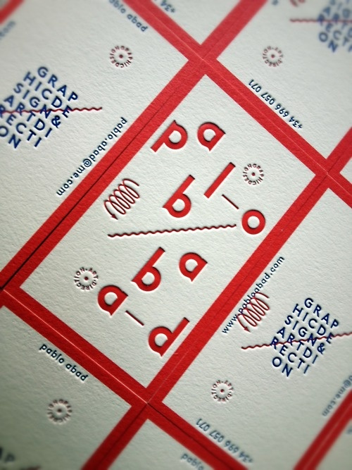pablo abad  embossing